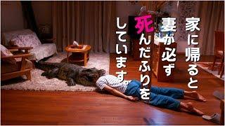 榮倉奈々、衝撃の死んだふり!映画『家に帰ると妻が必ず死んだふりをしています。』特報 thumbnail