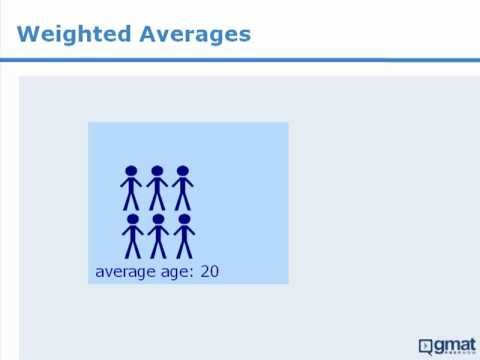6. GMAT Math Lesson: Weighted Averages