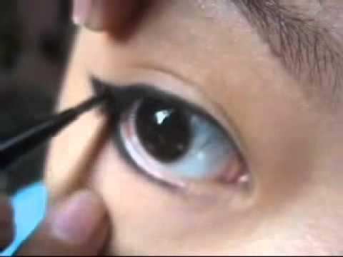 Hoc cach trang diem mat/ Học cách trang điểm mắt