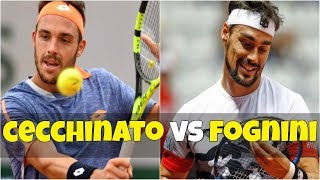 Marco Cecchinato vs Fabio Fognini | 1R Munich 2018 Highlights HD