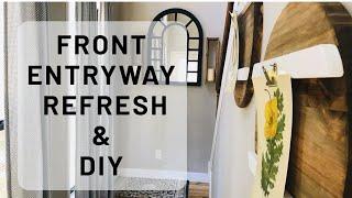 REFRESH FRONT ENTRYWAY|DIY'S