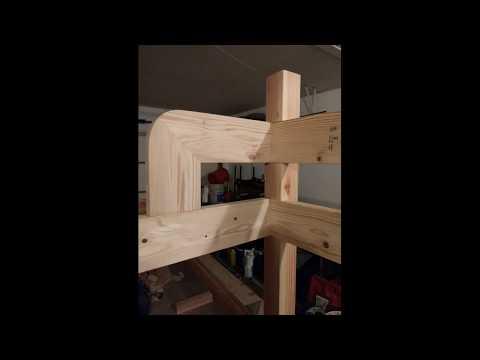 DIY homemade Loft bed how to build make
