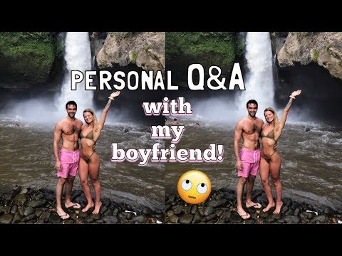 ANSWERING PERSONAL *JUICY* QUESTIONS WITH MY BOYFRIEND | THE PROPOSAL TALK