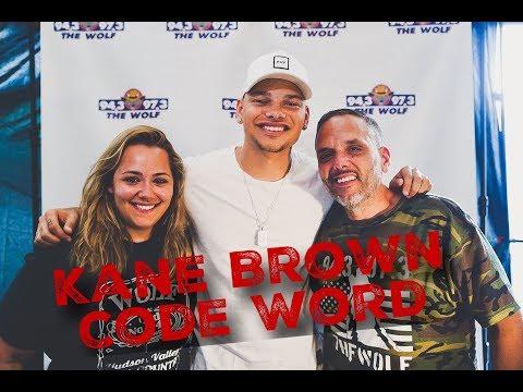 Kane Brown Code Word