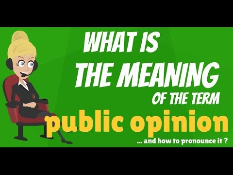 the meaning of public