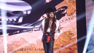 Adi Gheo, piratul din Caraibe, ţinteşte finala pe scena de la iUmor!