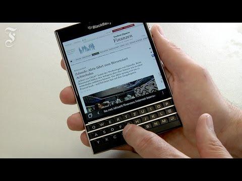 Blackberry Passport: Die trauen sich was