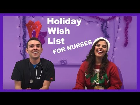 NURSE Holiday Wish List - 5 Best Gifts For Nurses