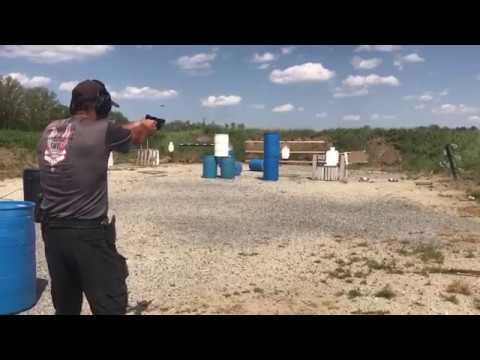 USPSA Match Robert Vogel 20 Yard Swinger