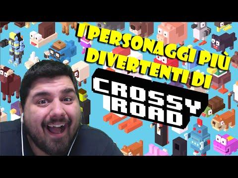 I personaggi più divertenti di Crossy Road