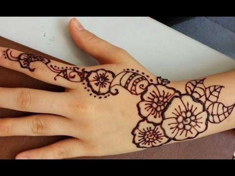 Как нарисовать мехенди в домашних условиях тату учимся рисовать менди на руках Поделки своими руками