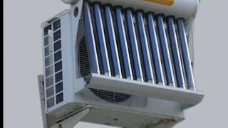 सौर ऊर्जा (solar powered AC ) से चलने वाला AC,