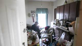 Inside a Pritchard Ave rooming house
