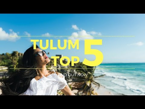 5 THINGS YOU MUST NOT MISS TULUM, MEXICO 🌴♥️