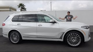 Вот почему BMW X7 2019 года - это лучший большой люксовый внедорожник