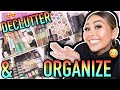 ORGANIZING MY INSANE MAKEUP COLLECTION PART 2 | Roxette Arisa