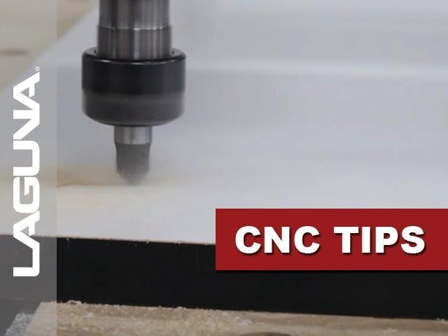 CNC Tech Tips - Adjusting Cut Speed - Vol 506   Laguna Tools