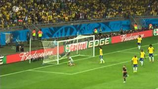 Brasilien - Deutschland 1 - 7 (ZDF news)