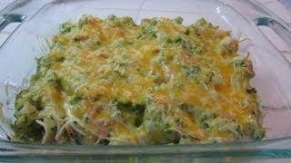 Broccoli Cauliflower Cheesy Ham Bake | A Quick & Easy How To Recipe