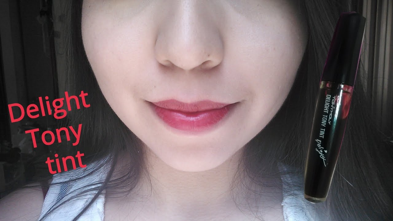 Tony Moly Delight Tint 02 Red Review Resea Youtube Liptint