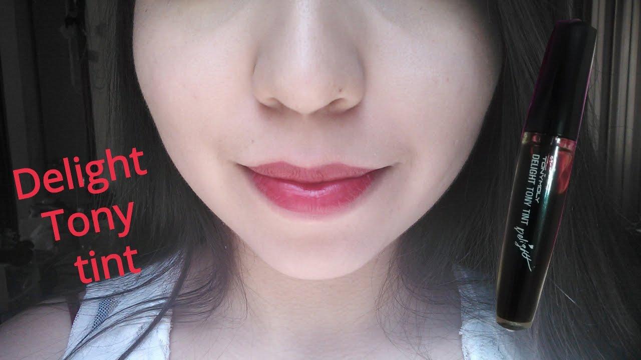 Tony Moly Delight Tint 02 Red Review Resea Youtube Liptint Original Korea Kokoa Korean Makeup