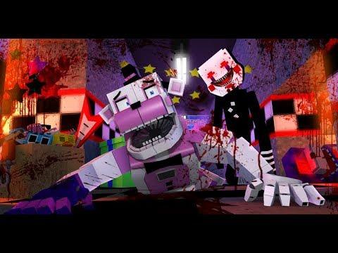 Minecraft FNAF- FNAF.EXE Puppet Master Attacks Funtime Freddy!- Minecraft Roleplay