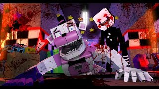 Minecraft FNAF FNAF.EXE Puppet Master Attacks Funtime Freddy Minecraft Roleplay