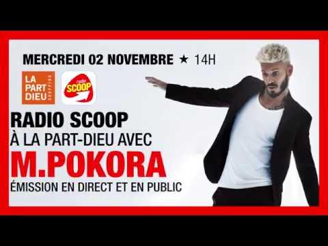 M.Pokora à Lyon avec Radio Scoop le 2 Novembre