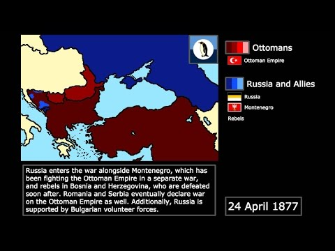 {Wars} The Russo-Turkish War (1877-1878): Every Week