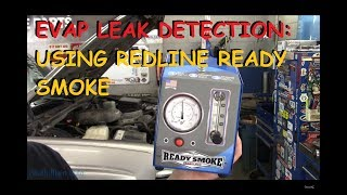 EVAP Leak Checking : Using A Redline Ready Smoke