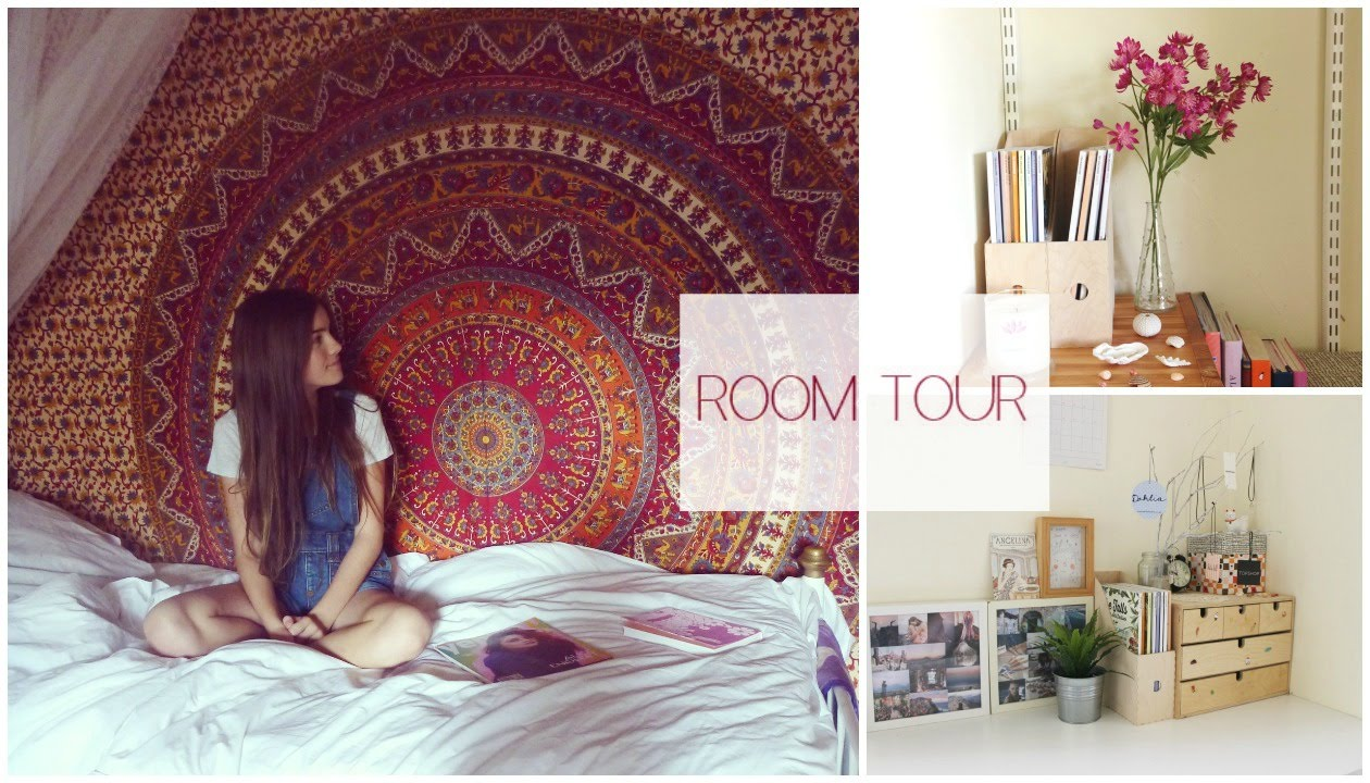 Room tour ikea urban outfitters more youtube Urban outfitters bedroom lookbook