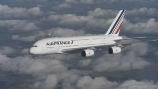 Air France A380 HD In-Flight Air-to-Air