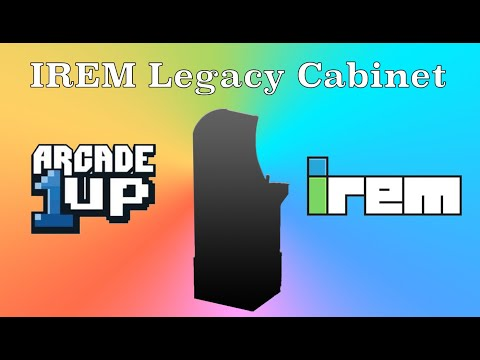 Irem Legacy Cabinet Arcade1Up from Original Console Gamer