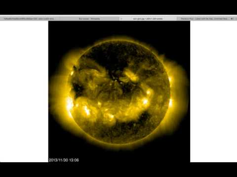 "NASA, SOHO, Discover Huge Anomaly ""Sun Scooping"" Latest"