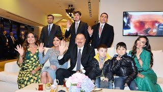 Arzu Aliyeva Baku2017 opening ceremony