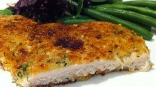 How To Make Parmesan Herb Chicken