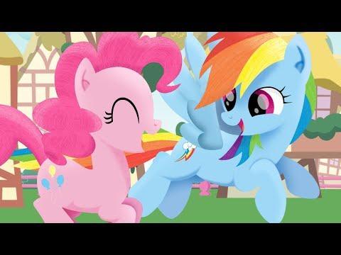 "(MLP Sings) PinkieDash Song ""Lovin' You is so Fun!' PMV Animation"