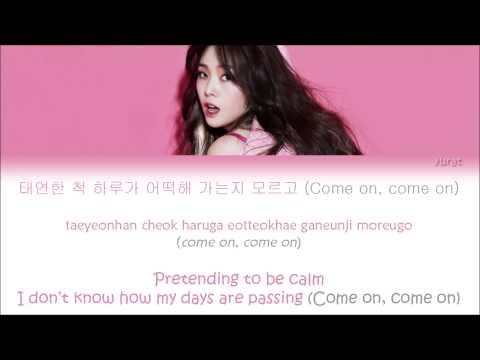I Am A Woman Too (나도 여자예요) - Minah(민아) (Girl's Day(걸스데이)) _ (Color Coded Han|Rom|Eng Lyrics/Sub)