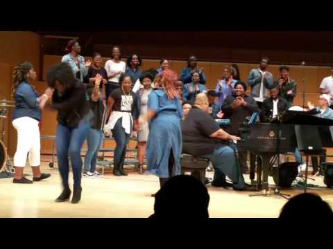 UMBC GOSPEL CHOIR 2017 SPRING CONCERT: Praise Break, Praise Dance, Shouting, Holy Dance