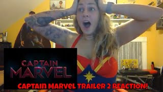 Marvel Studios' Captain Marvel Trailer 2 REACTION!