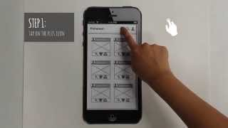 Paper Prototype Demonstration - Pinterest Mobile App Redesign