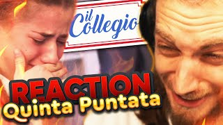 COLLEGIO 5: QUINTA PUNTATA [REACTION MASSEIANA]