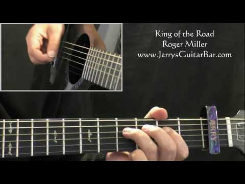 How To Play Roger Miller King of the Road (intro only)