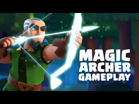 Clash Royale: Magic Archer Gameplay Reveal! (New Legendary Card!)