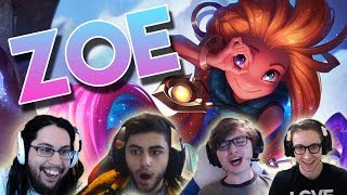 What Happens When Streamers Learn ZOE