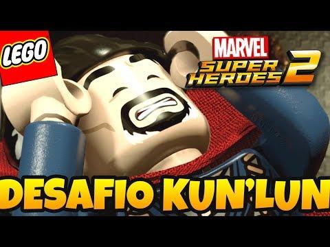 LEGO Marvel Super Heroes 2 PT BR #26 - DOUTOR ESTRANHO E REALITY SHOW EM KUN'LUN