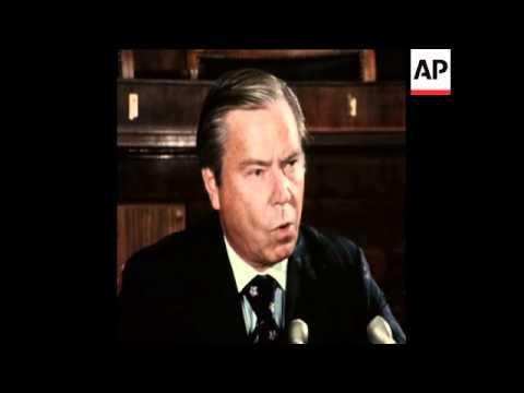 SYND 7 8 74 REPUBLICAN HOUSE OF REPRESENTATIVES LEADER WILL VOTE TO IMPEACH NIXON