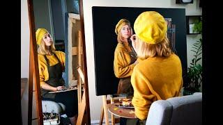 Мнение о Акиане Крамарик, впечатление от её новой картины ''Автопортрет'' (self-portrait)
