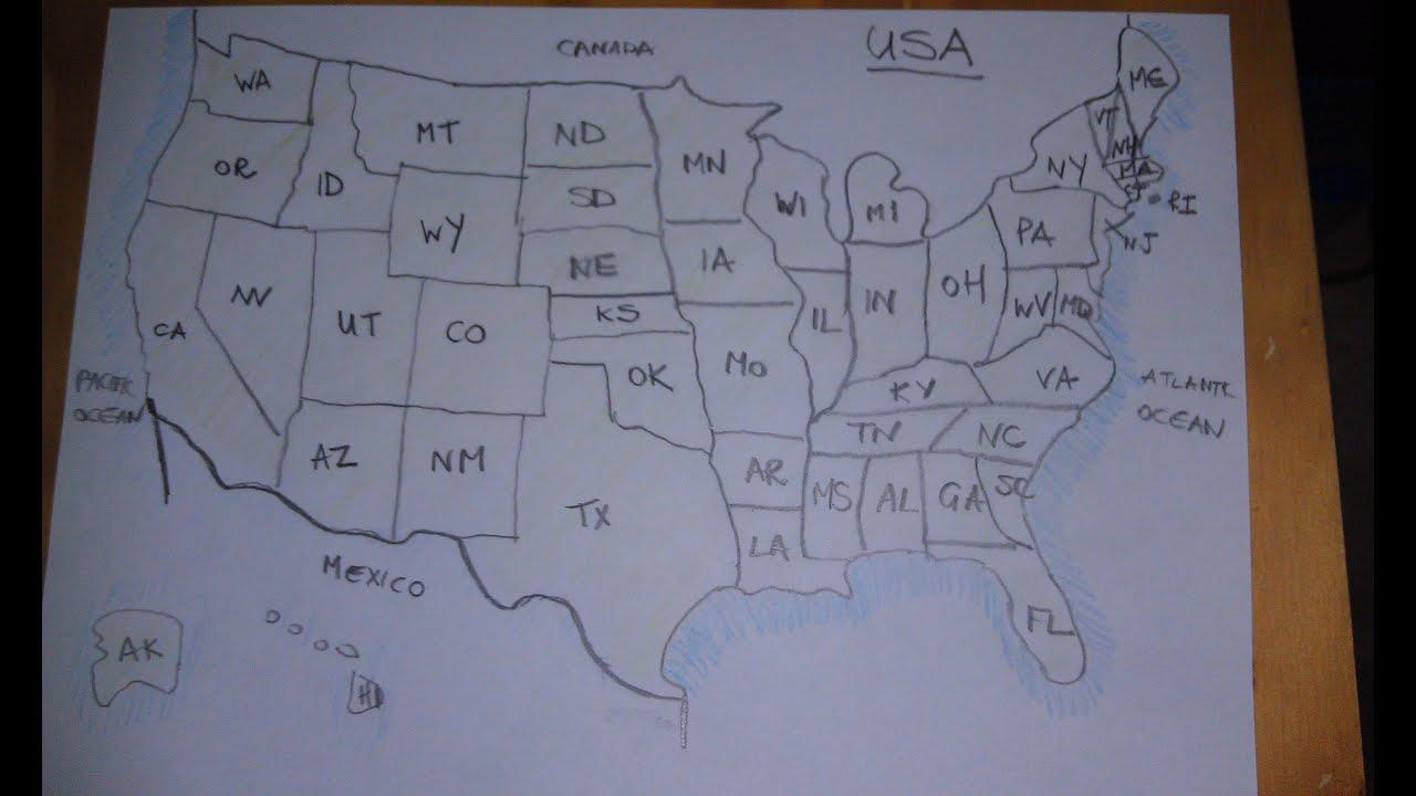 Asmr Map Of Usa Australian Accent Describing In A Quiet
