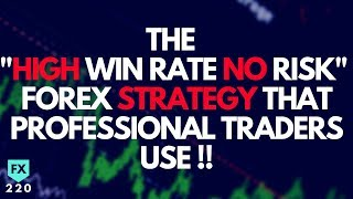"""The """"High Win Rate / No Risk"""" Forex Strategy That Professional Traders Use (SECRET REVEALED)"""